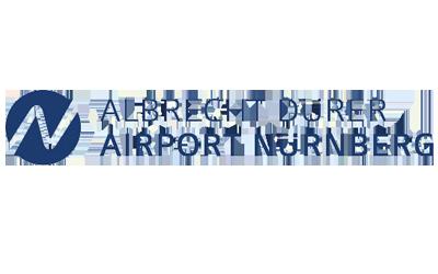 Referenzen Logo Flughafen Nürnberg