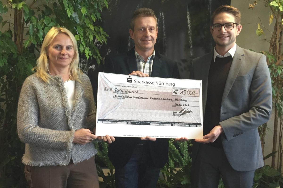 BSS Brandschutz Sichelstiel unterstützt erneut die Elterninitiative krebskranker Kinder e.V. Nürnberg