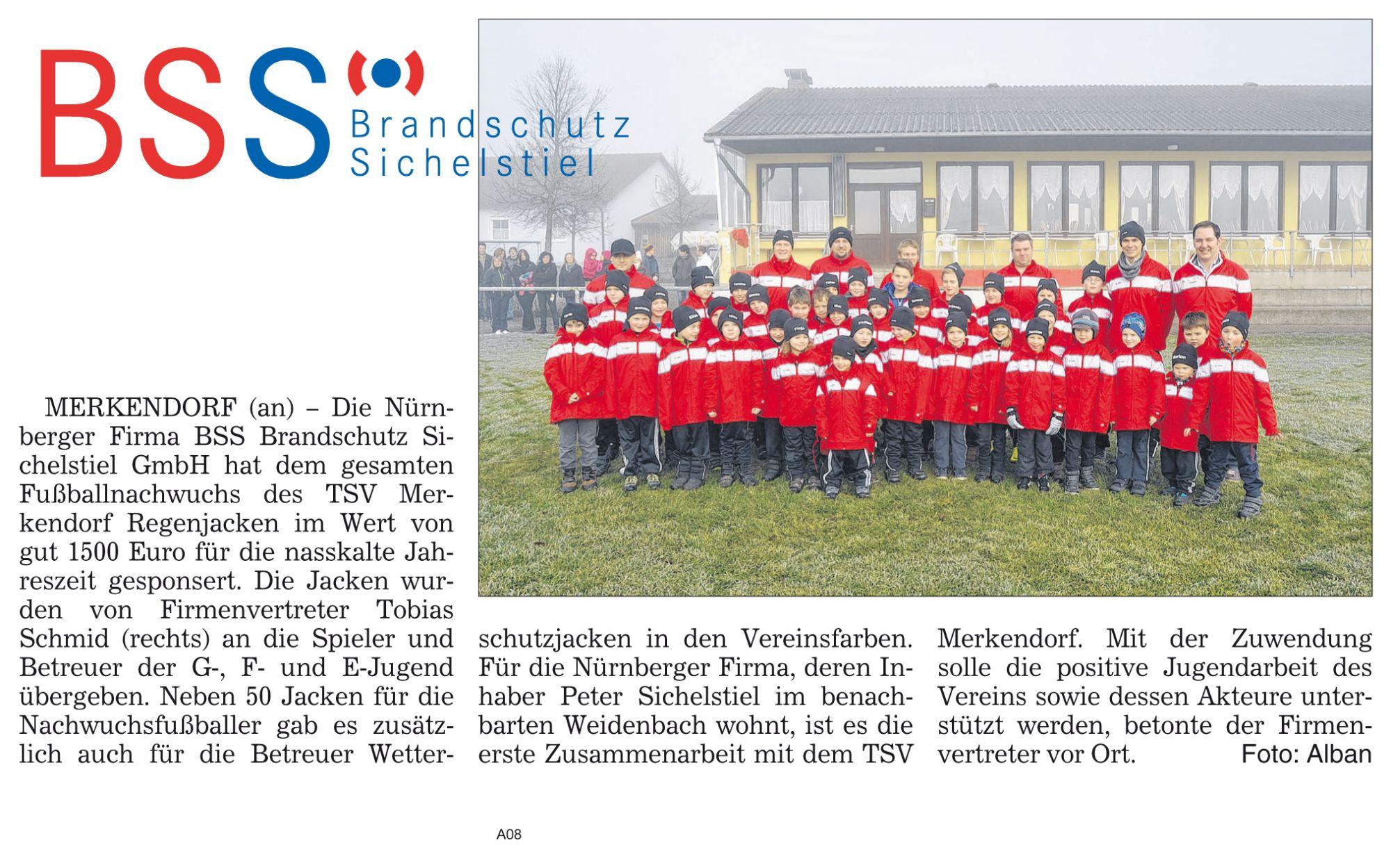 Engagement für den TSV Merkendorf