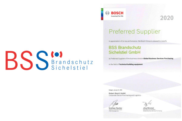 Bosch - Preferred Supplier 2020